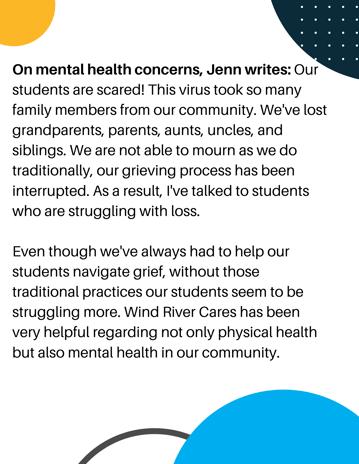 Mental Health Concerns Jenn Runs Close to Lodge (1)