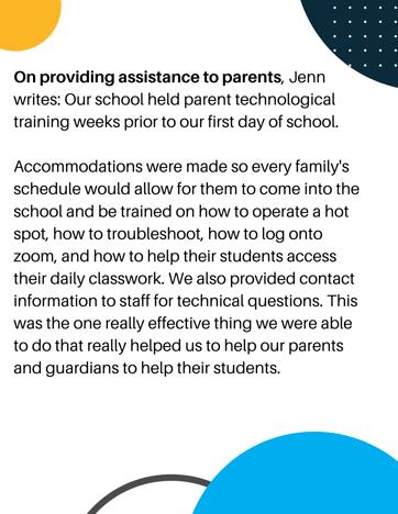Providing Assistance to Parents Jenn Runs Close to Lodge (1)